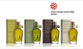 First place winner at reddot design award 2020 for